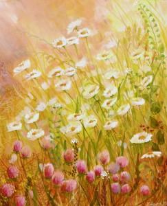 Tusensköna och klöver/ Daisy and clover