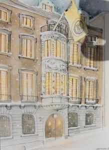 Stockholms Handelskammare; vykort