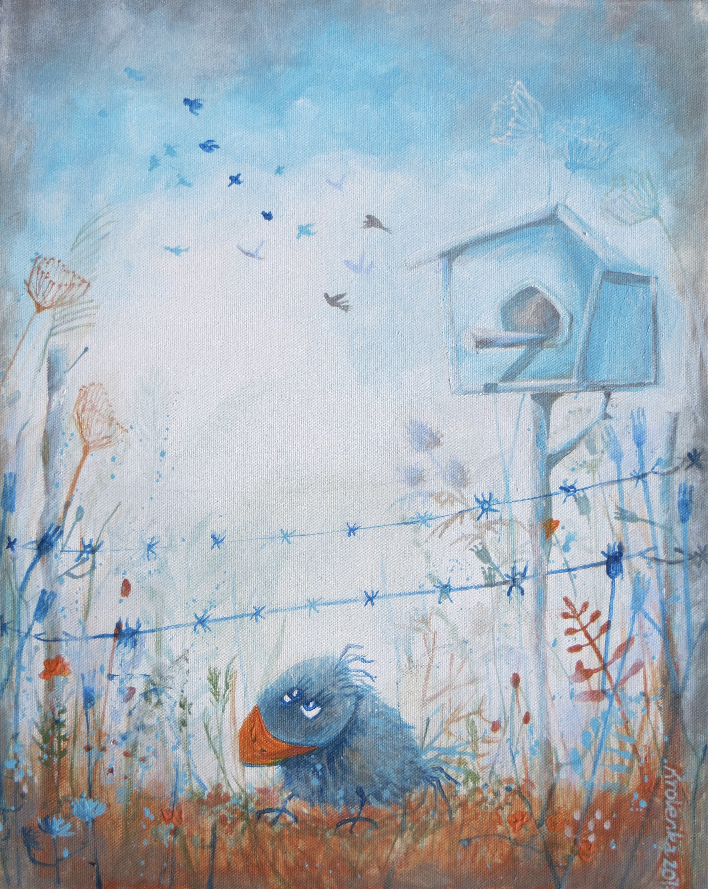 Don`t fly away-SOLD